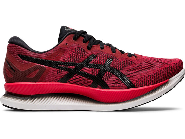 asics Glideride Shoes Men speed red/black